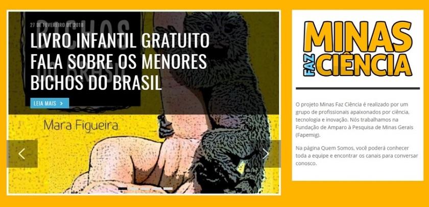 minas faz ciencia divulga os menores bichos do brasil